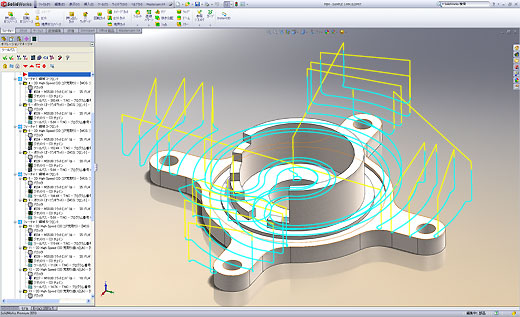 Mastercam for SolidWorks 2Dデータ